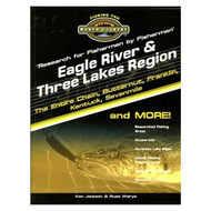 Eagle River & Three Lakes Region Lake Map Book