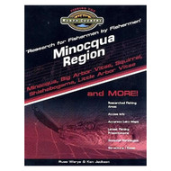 Minocqua Wisconsin Region Lake Map Book