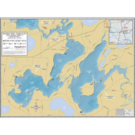 Eagle River Chain (Southern Lakes) - includes Cranberry & Catfish lakes