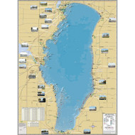 Lake Winnebago -  Winnebago, Calumet & Fon du Lac Counties, WI