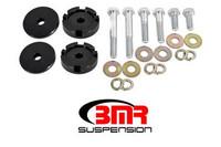 BMR- 2015-2017 Mustang Differential Bushing Lockout Kit, Billet Aluminum