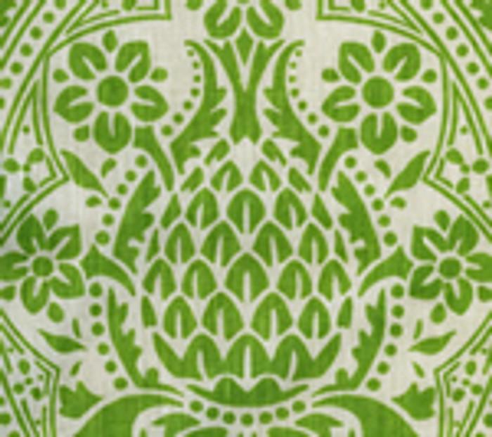 Quadrille Pina Jungle Green on Tint