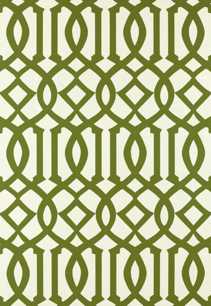 Schumacher Kelly Wearstler Imperial Trellis Treillage Wallpaper