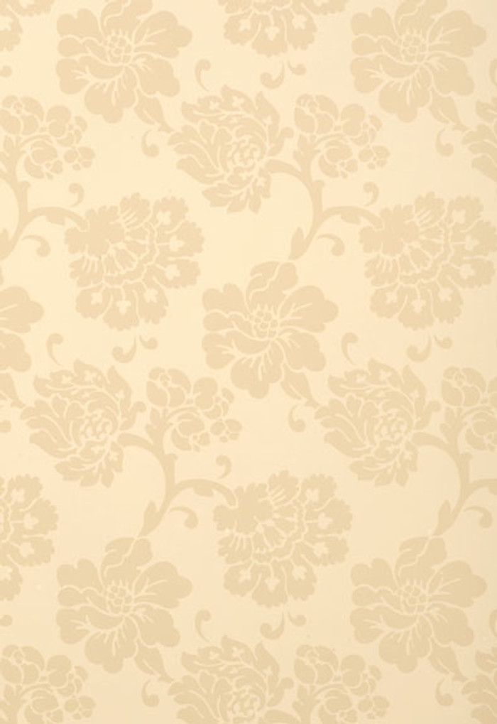 Schumacher Albero Floreale Bisque Wallpaper
