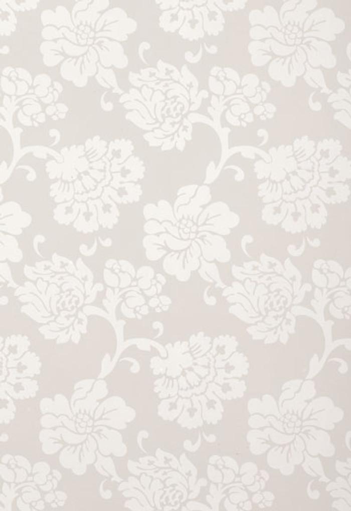 Schumacher Albero Floreale Grey Wallpaper