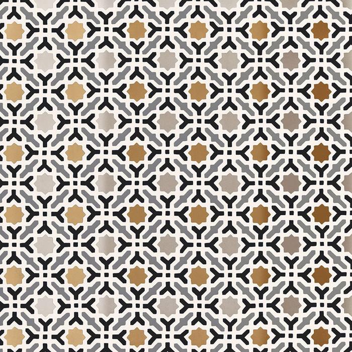 Schumacher Serallo Mosaic Wallpaper Mica