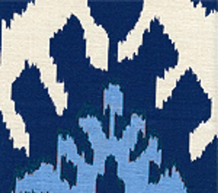 Quadrille Kazak Blue on Tint