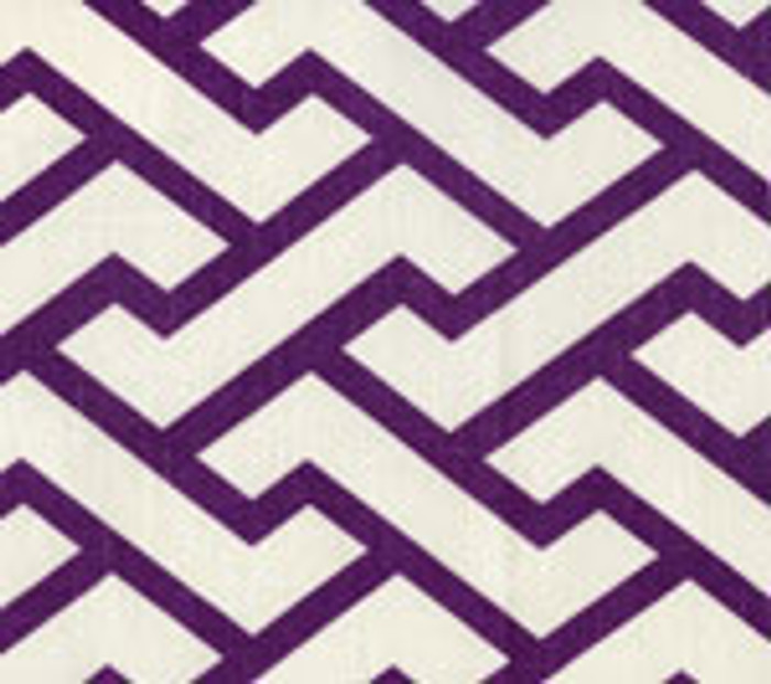 Quadrille China Seas Aga Purple on Tint