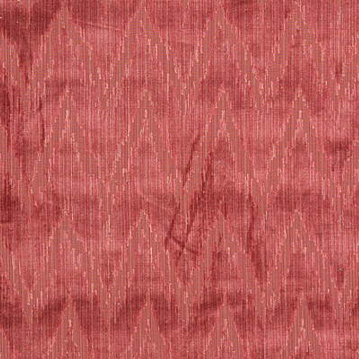 Lee Jofa Holland Flamestitch Coral Velvet