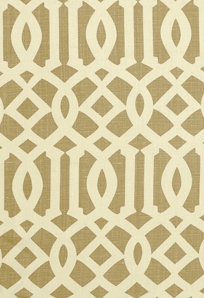 2643761 Schumacher Kelly Wearstler Fabric Imperial Trellis Natural