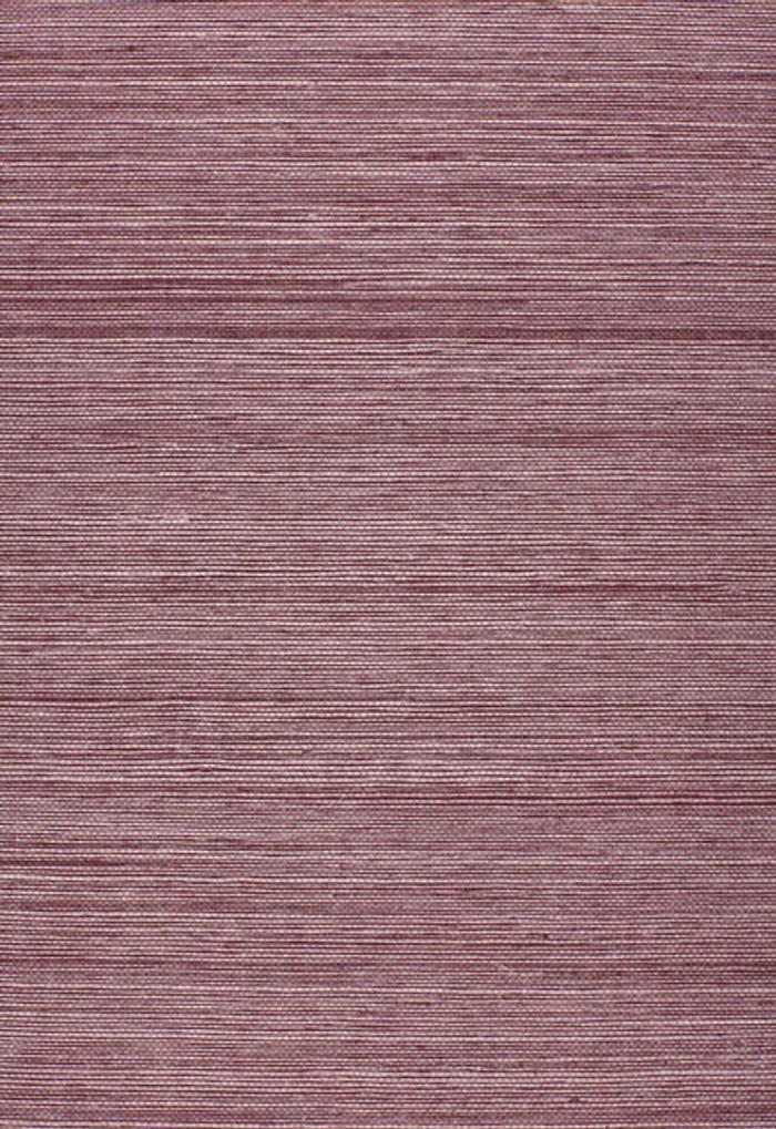 Schumacher Onna Sisal Wallpaper Purple