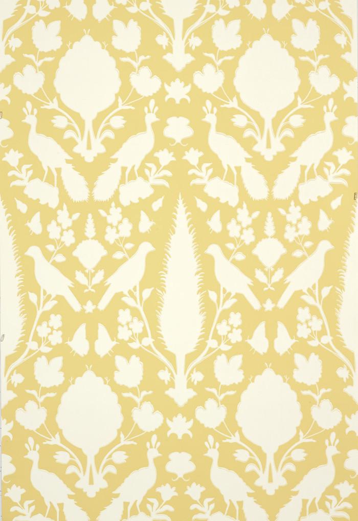 Schumacher Chenonceau Wallpaper Buttercup