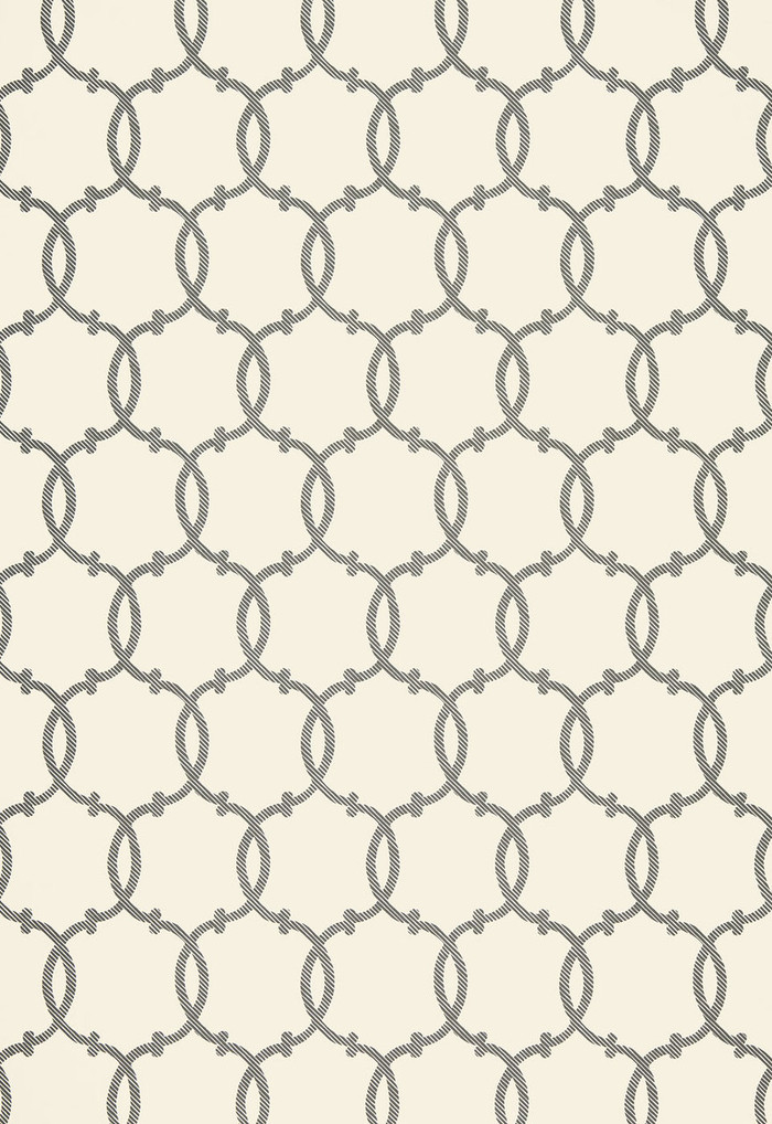 Tracery Wallpaper in Charcoal