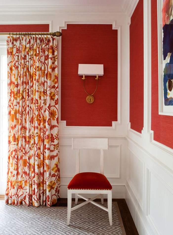 Potalla Drapes in Salmons (Christie Allen Designs)