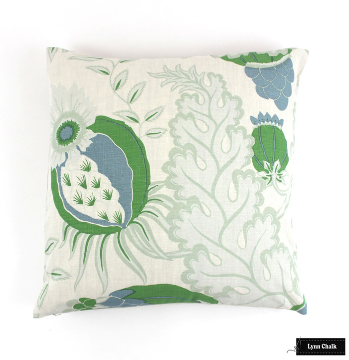 Christopher Farr Carnival Pillows (shown in Green-comes in several colors)