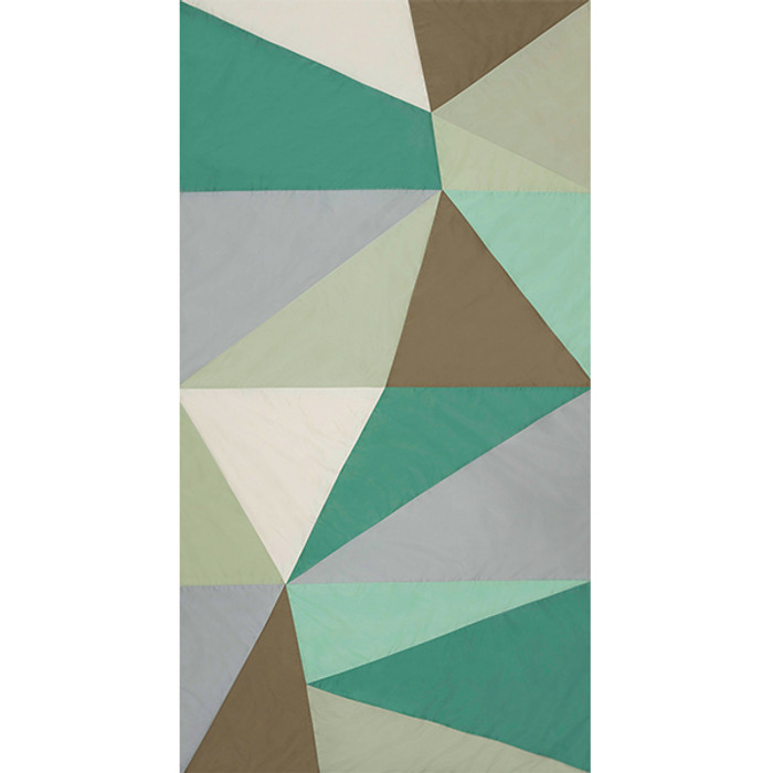Cubist in Celadon