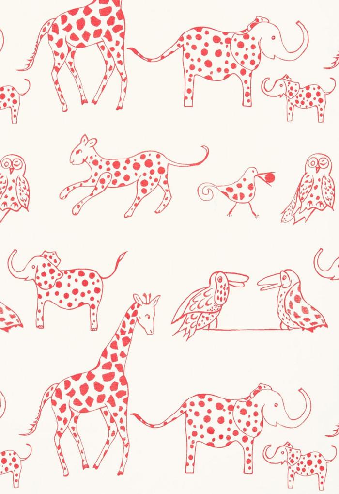 66253 Lulu DK Fabric Jungle Jubilee Punch