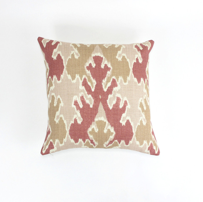 ON SALE Kelly Wearstler Bengal Bazaar Pillows in Apricot (18 X 18) Only 2 Remaining This Color has been Discontinued