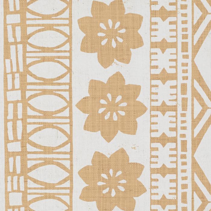 Schumacher Mary McDonald Mrs. Howell Natural Grasscloth Wallcovering 5007330