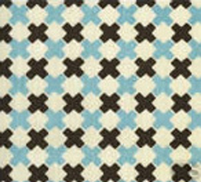 Double Cross Check New Blue with Brown on Tint 4120-14