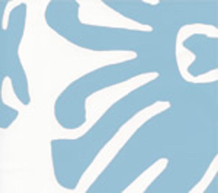 SIGOURNEY Windsor Blue on White 2470-07WP