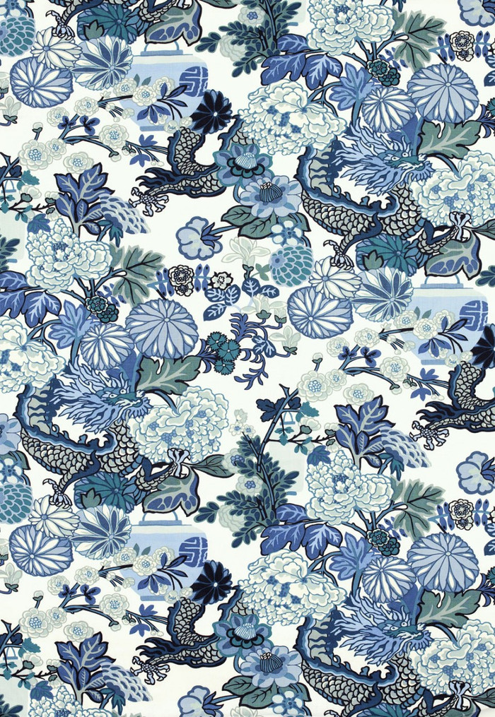 Chiang Mai Dragon China Blue 173272