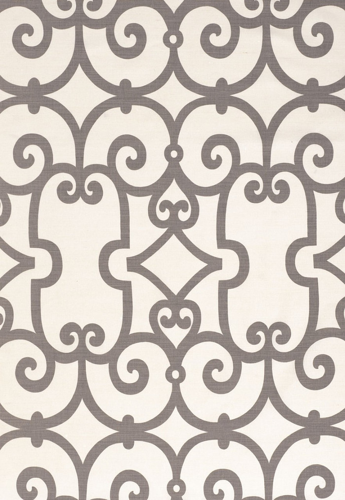 Schumacher Manor Gate 174153 Charcoal