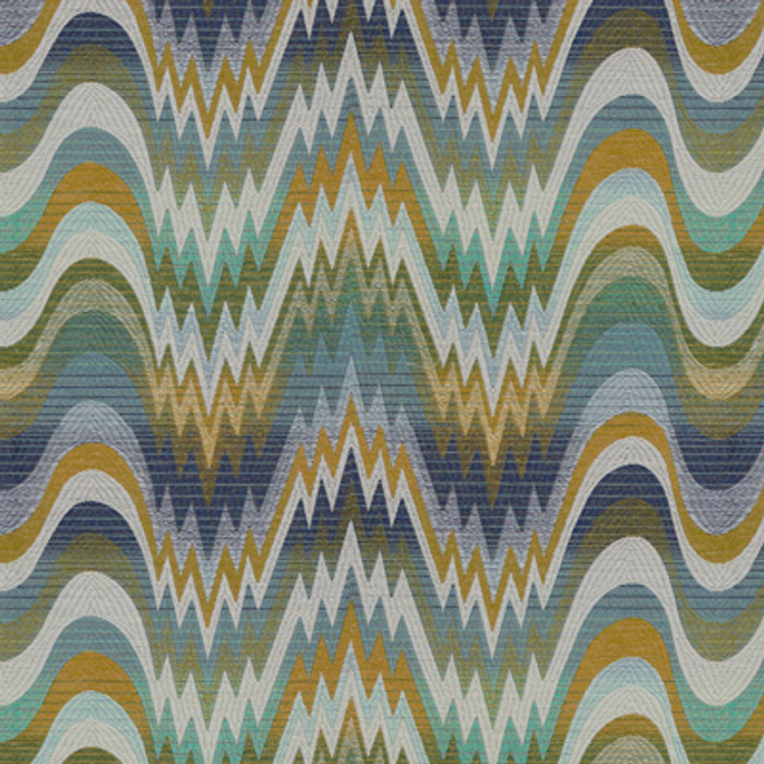 Acid Palm - Surf by Jonathan Adler for Kravet