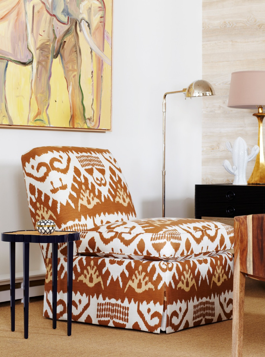 Chair in Kazak in Camel Taupe
