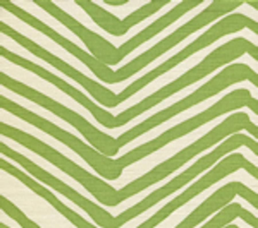 Zig Zag Jungle Green on Tint AC302-32