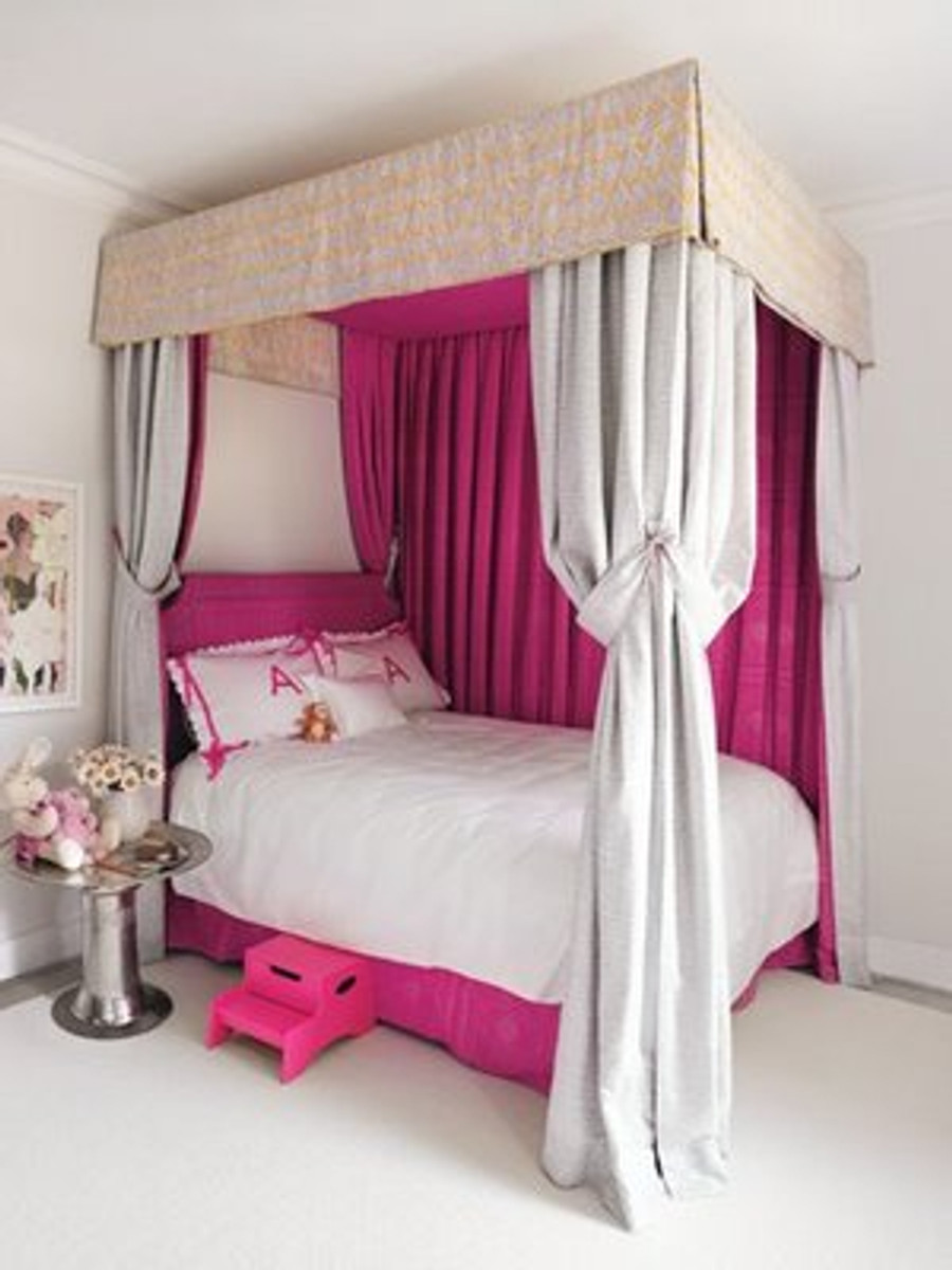 (Room Designed by Amanda Nesbit for Gwyneth Paltrow)