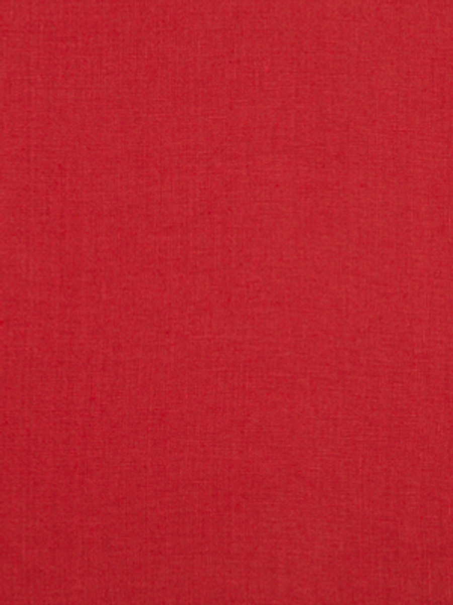 Milan Solid Linen Lacquer Red