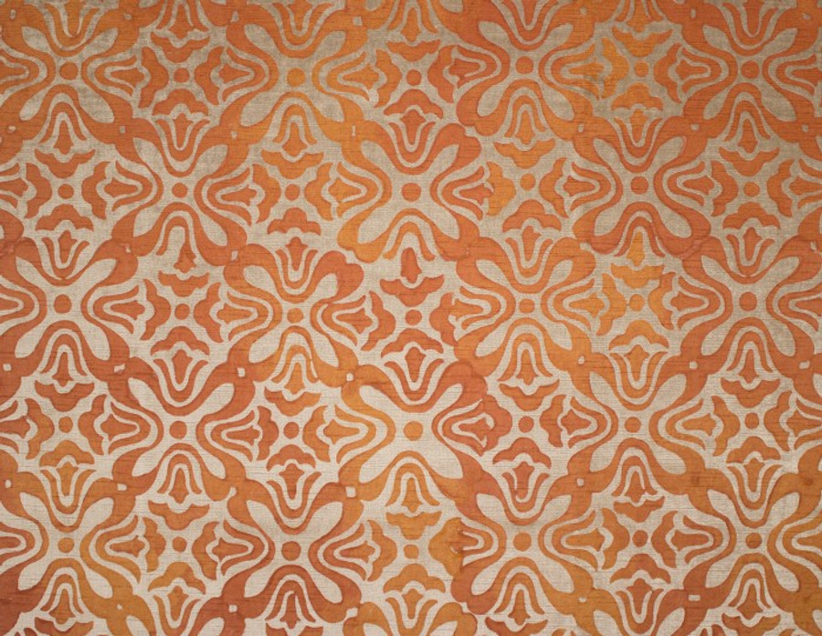 Persimmon on Natural Linen