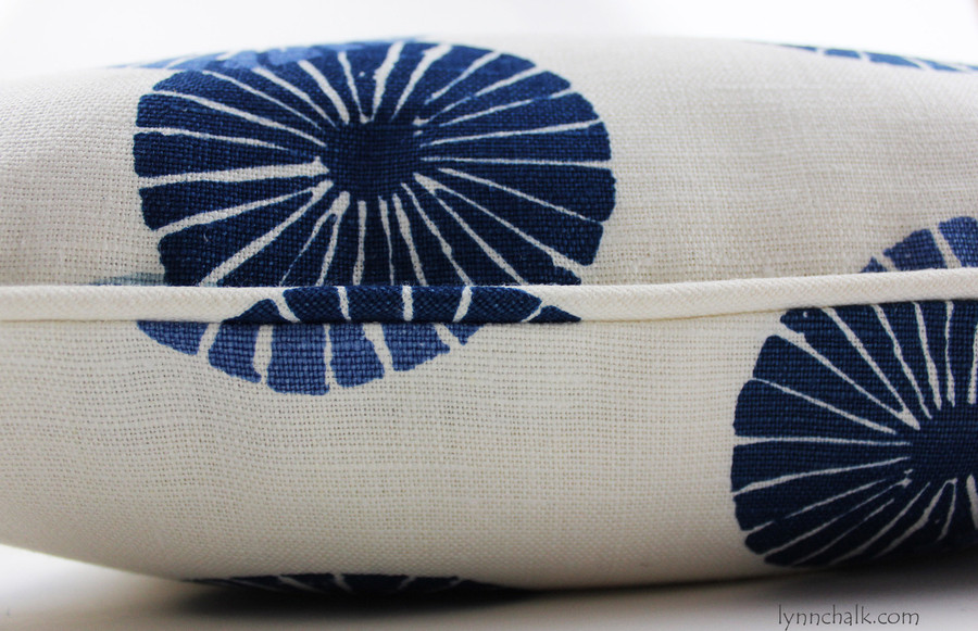 Groundworks Kasa Pillows (shown in Blue-comes in 8 colorways)