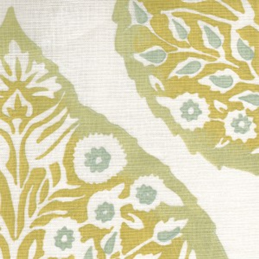 Galbraith & Paul Lotus Drapes (Shown in Mineral on Cream-comes in many colors)