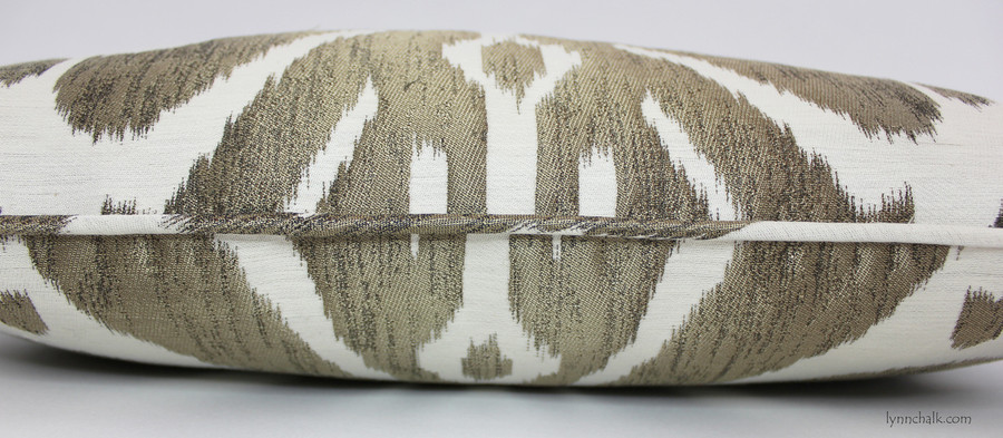 Dedar Ikat 9008 Pillows with Welting - comes in 8 colors