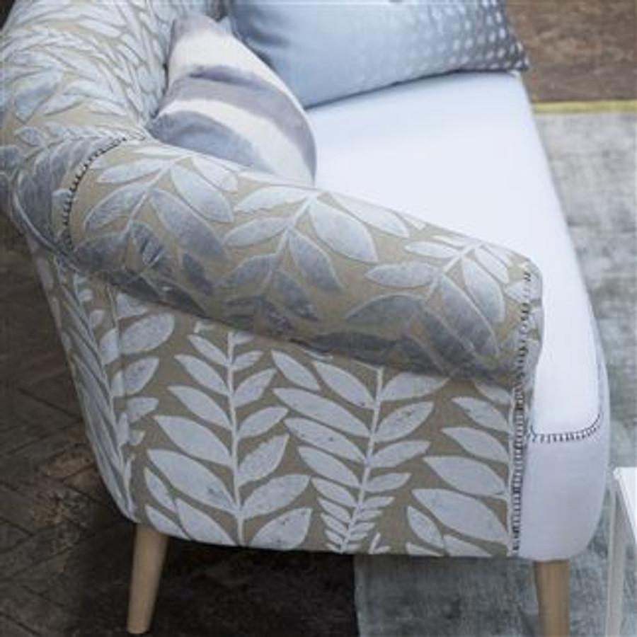 ON SALE Designers Guild Foglia Pillows in Azure-18 X 18