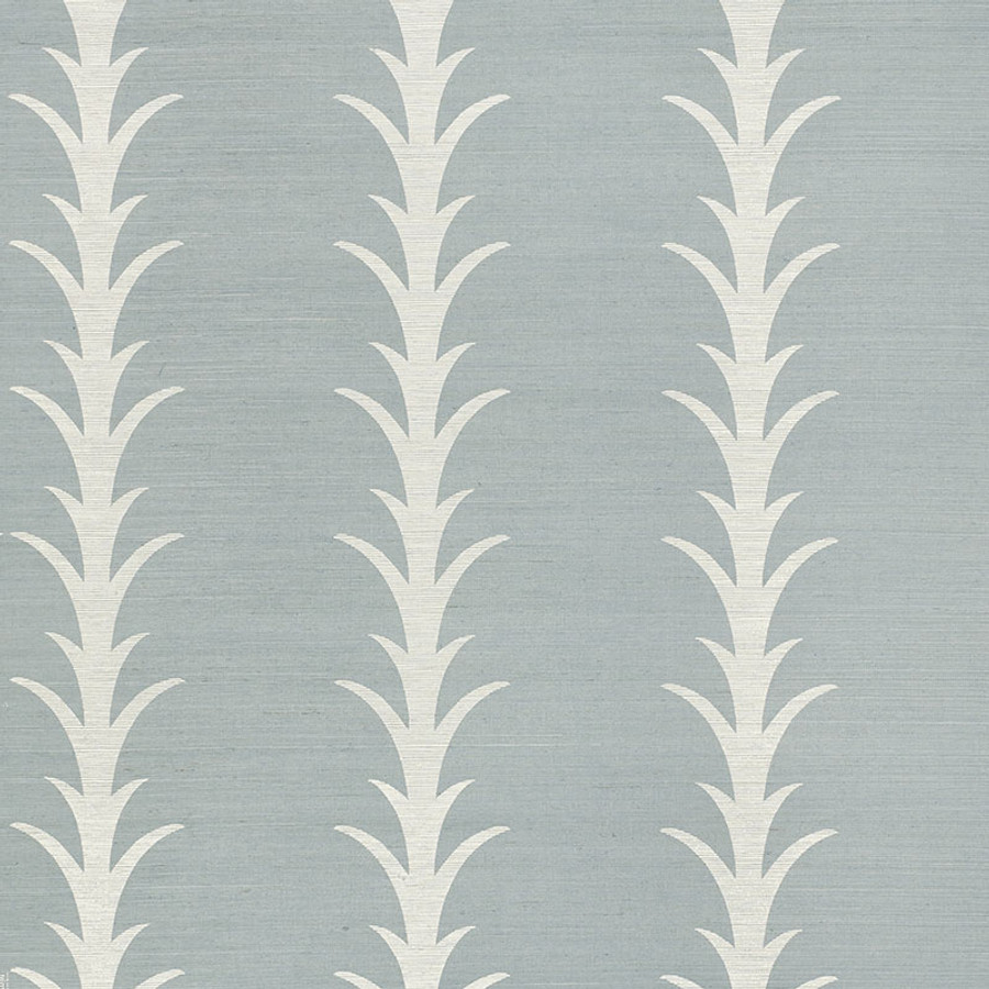 5006056 Acanthus Stripe Chambray