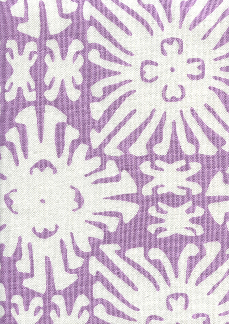 Sigourney Reverse Small Scale Lavender on white 2485 05