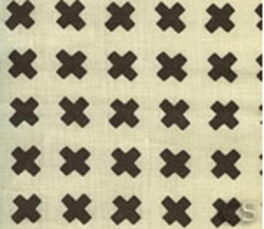 Cross Check Brown on Tint 4130-16