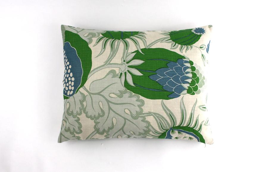 Pillow Shams 20 X 26 in Carnival in Green