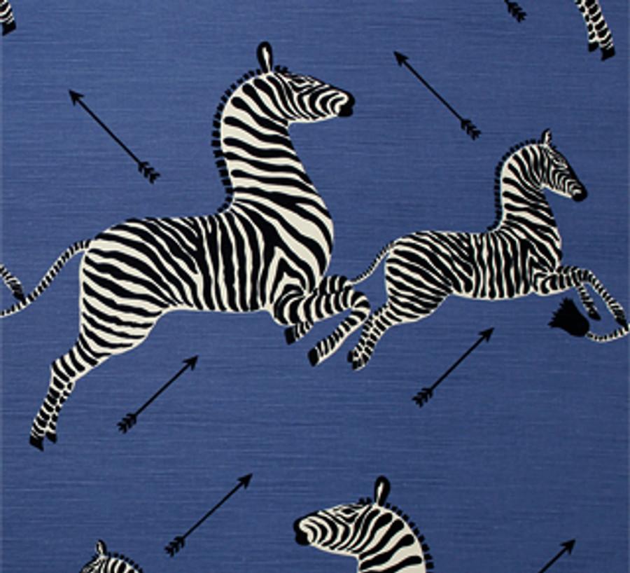 Scalamandre Zebras 36378-005 Denim