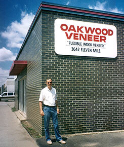 25 years history as a wood veneer company in michigan for Oakwood veneers