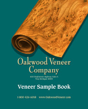 Wood Veneer Samples and Sample Books