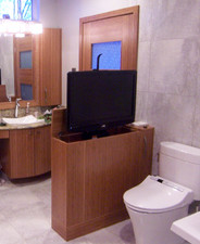 Bamboo Veneer Bathroom