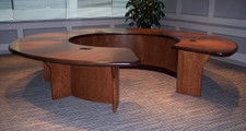 Cherry Veneer Reception Area
