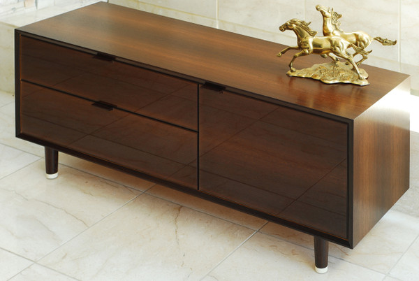 Wenge veneer credenza oakwood veneer for Oakwood veneers