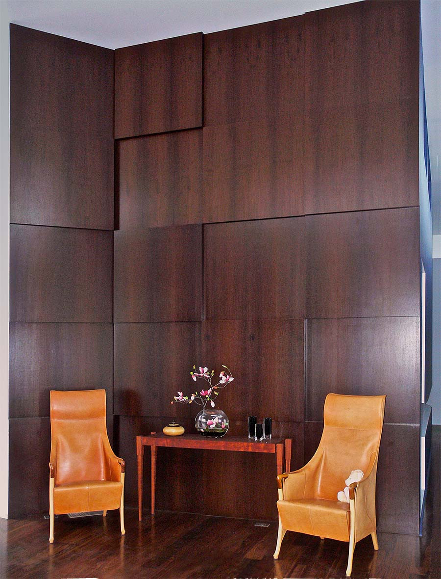 Wenge veneer wall oakwood veneer for Oakwood veneers