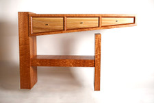 Bosse Cedar Veneer Display Table is an Eye-Stopper!