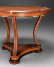 Lacewood/Mahogany/Maple Plantation Entry Table